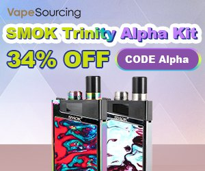 SMOK Trinity Alpha 34% OFF
